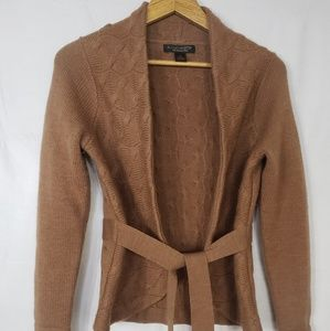 A.Giannetti Wool Open Front Cardigan Size M
